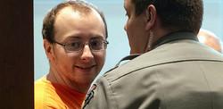 ジェイミー・クロスさんを誘拐したうえ、彼女の両親を殺害したジェイク・パターソン被告。2件の殺人罪でそれぞれ終身刑を言い渡される。(Photo by Renee Jones Schneider/AP/REX/Shutterstock)