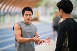 ウサイン・ボルトとトレーニングを積み、和田賢一のスプリント能力は劇的に高まった【写真:小林靖】