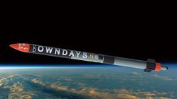 インターステラテクノロジズが、この夏に打ち上げる予定の観測ロケット「ペイターズドリーム MOMO 4号機」の想像図(提供 インターステラテクノロジズ)