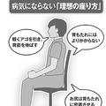 病気にならない「理想の座り方」