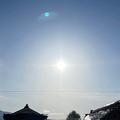 東北各地で幻日環が出現 太陽上を通るレアな光の輪