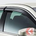 コロナ禍でドアバイザー装着率に変化あり?車移動で注目の換気手段