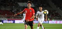 日本戦を控えるウルグアイ代表、韓国に敗れる!G大阪のファン・ウィジョがゴール