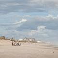 米ノースカロライナ州トップセール島のビーチ(2018年9月12日撮影、資料写真)。(c)Logan Cyrus / AFP
