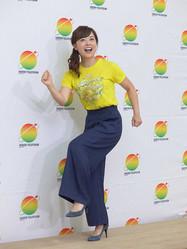 日本テレビ「24時間テレビ」の総合司会と24時間駅伝のチャリティーランナーを担当した水卜麻美アナウンサー