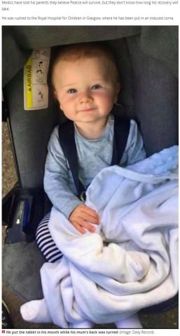 【海外発!Breaking News】ジェルボール洗剤を口に入れた乳児、集中治療室で昏睡状態に置かれる(スコットランド)