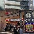 ココカラファインの旗艦店(大阪市)。 2018年にZARAの大阪旗艦店跡に出店した最新型店舗だ