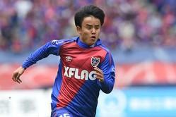 FC東京の17歳MF久保建英が2試合連続ゴールを決めた【写真:Getty Images】