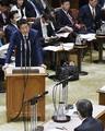 安倍首相「唾出る大声避けて」感染防止策を念頭に野党けん制