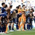 アジア勢で史上初の快挙を達成したサッカー日本代表【写真:Getty Images】