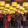 マリオのハテナブロックがNY市街地に突如出現、USJがイベント