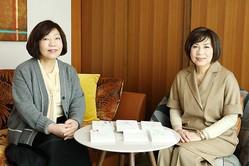 「不倫」について語り合う林真理子さんと柴門ふみさん