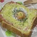 BECトースト♪  by:メロンさん