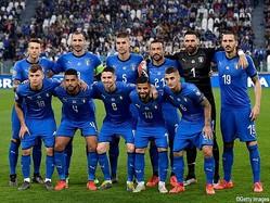 イタリア代表メンバー発表
