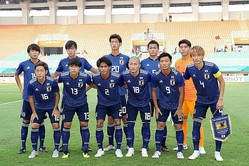 日本が2大会ぶりの決勝進出を目指してUAEと激突。写真:徳丸篤史
