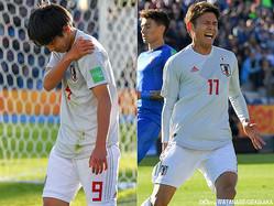 FW田川亨介(FC東京)とMF斉藤光毅(横浜FC)の2トップが負傷交代