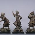 話題になった十二神将像(奈良国立博物館所蔵、収蔵品データベースより)