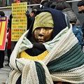 「日韓合意は解決ではない」が韓国の合言葉 UPI/AFLO