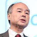 ソフトバンクの上場を表明した孫正義会長兼社長(2月、決算説明会)