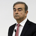 日産自動車の前会長カルロス・ゴーン被告=8日、ベイルート(AFP時事)