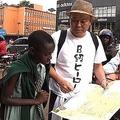 千原せいじがアフリカで奇跡、希少な赤ちゃんサイに出会う