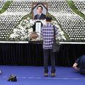 セクハラ疑惑で自殺した朴元淳ソウル市長の焼香所がソウル広場に設置され多くの市民が弔問に訪れる