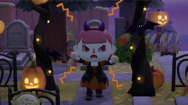 「あつ森」秋の無料アプデは9月30日配信、仮装とかぼちゃでハロウィンをエンジョイ!