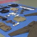 旧日本軍の展示品を窃盗 被害伝える記事を見て自首