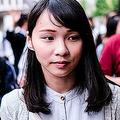 黄之鋒氏、周庭氏など、香港で若手活動家らが相次ぎ逮捕されている。写真は2019年6月、周庭氏が来日時に撮影(GettyImages)