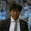名波監督は「新潟のほうがアグレッシブにやっていた」とアウェーチームを評した。写真:滝川敏之(サッカーダイジェスト写真部)
