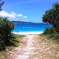 碧い海が目の前に広がる「古座間味ビーチ」