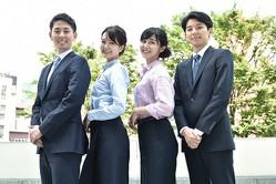 キャプション:左から、布施宏倖アナ・下村彩里アナ・斎藤ちはるアナ・仁科健吾アナ