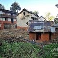 ネパール西部アチャームで、生理中の女性を隔離するための小屋(2013年11月23日撮影、資料写真)。(c)Prakash MATHEMA / AFP