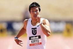 100メートル9秒98を記録した桐生祥秀【写真:Getty Images】