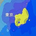 関東南部 眠り妨げるほどの雷雨