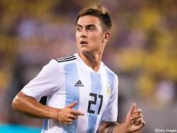 先発出場し、得点にも絡んだアルゼンチン代表FWパウロ・ディバラ