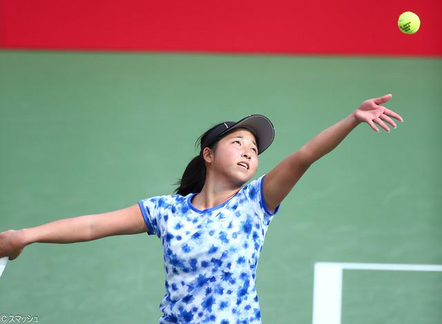 清水は同期の村松を、澤柳は大学生の松田を破り、決勝へ【三菱 全日本テニス選手権93rd/第7日:女子】