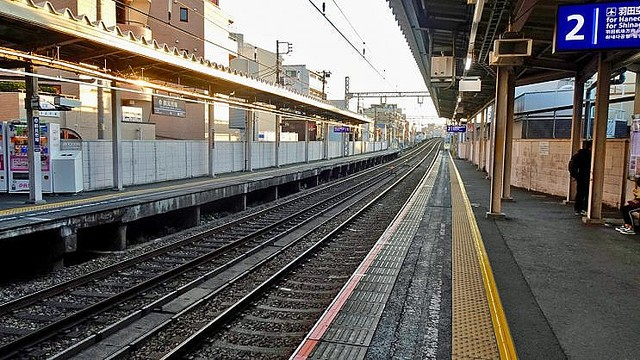 街撮り駅ホームjk品川 ボード「セーラー服」のピン