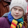スウェーデンの環境活動家グレタ・トゥンベリさん=6日、ブリュッセル(EPA時事)