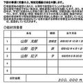 10万円給付申請書の受給しない欄削除 山形市の独自フォーマットに好反応