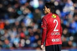 名良橋氏は自らが背負ってきた2番を着ける内田に対し、近年は怪我に悩まされているが「再び輝いてほしい」と期待を込める。写真:茂木あきら(サッカーダイジェスト写真部)