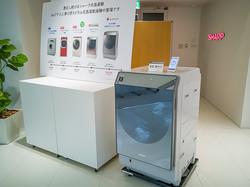 シャープのドラム式洗濯乾燥機「ES-W111」は、洗濯の仕方そのものを教えてくれる