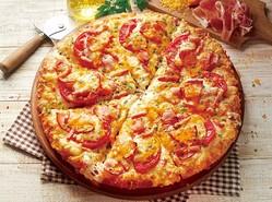 ピザーラ、「黄金チーズと贅沢4種ハムのピザ」など新商品を期間