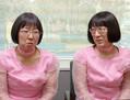 お笑いコンビ「阿佐ヶ谷姉妹」の木村美穂(左)と渡辺江里子