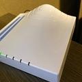 ホテルのWi-Fi不調なときは フロントに伝えるとルーター持ってきてもらえる