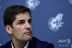 サッカースペイン代表のロベルト・モレノ監督(2019年6月19日撮影)。(c)OSCAR DEL POZO / AFP