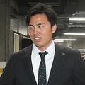 契約更改に臨んだソフトバンク・田中正義【写真:藤浦一都】