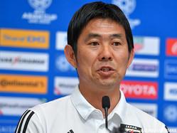 別メニュー調整が続く2選手の状態を語った日本代表の森保一監督