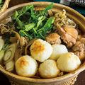 ご飯を丸めてきりたんぽ風にする秋田の郷土料理(撮影/深澤慎平)