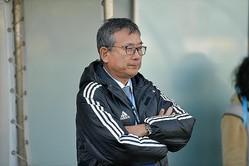 5月15日を迎えてコメントを発表した村井チェアマン。リーグ再開への意気込みなども語った。(C)SOCCER DIGEST